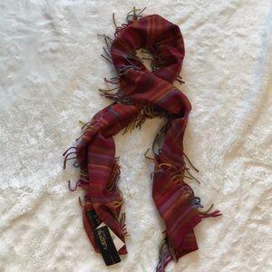 Cashmink V. Fraas colorful scarf NWT